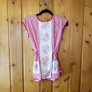 Vintage Homemade Apron (flaws)